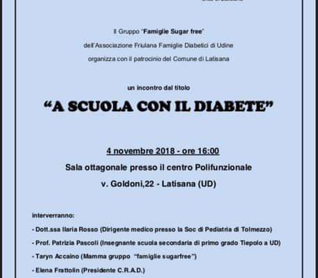 A scuola con il diabete