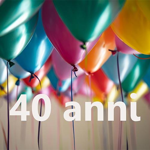 immagine  40 anni associazione